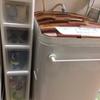 洗濯機の排水ホースの目隠しカバーをDIY&新収納設置