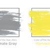 2021年の色は2色――イエローとグレー