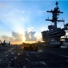 「航行、北朝鮮に見せつける」 日米共同訓練、増す圧力