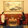 中国大使館を表敬訪問① 日本道観の道教交流