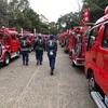 消防車両が一同に会する出初式は一見の価値ありです。