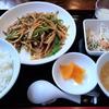 【グルメ探訪記】ろくめい:青椒肉絲定食