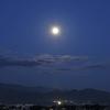 朝景色~その54『月没』