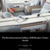 【なんと!ANAもJALもまさかのランク圏外】「読者約43万人が選ぶベスト・エアライン20(世界で権威ある旅行誌)」で全日空も日本航空もまさかの落選・・1位はやっぱりシンガポール航空の翼が選ばれました☆