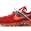 "【7月発売】スニーカーリーク情報  ""OFF-WHITE × NIKE AIR MAX 90 UNIVERSITY RED (AA7293-600)"""