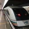 時速430kmに興奮!。短時間だけどね。上海リニアモーターカー