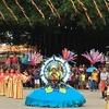 マクタン島バージョンのシヌログ祭!メインはサントニーニョと子供達、現場レポートしてみるよ