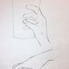 手を描く!何かを持った手【練習】