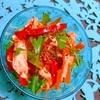 鶏ささみとさつまいも春雨の韓国風旨辛サラダ