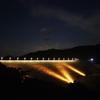 摺上川ダム(夜の部)