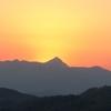 なんでだろう涙が出た 皇海山の夕日