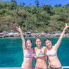 海中遊泳inラチャアイランド