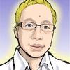 ブログアイコンの似顔絵を青年マンガタッチでショウエイさんに描いてもらいました