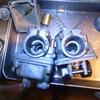 FR50 キャブレターチェック(インシュレーターゴムの向き)