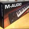M-audioのkeystation49を購入しました。