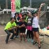 9/29「村岡ダブルフルウルトラランニング」ランナー号泣!!想定外の暑さ、砂利で急斜面の新コース!!私設エイドで応援してました!!