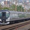 9月29日撮影 東海道線 平塚~大磯間 いつもの所で貨物列車やE257系5500番台の試運転を撮る