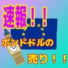 【速報】ポンドドル、やっぱりブルトラップで下っぽい!!