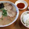 【北九州市グルメ】ランパスで豚骨ラーメンも餃子もご飯もセットで500円!!【清龍】
