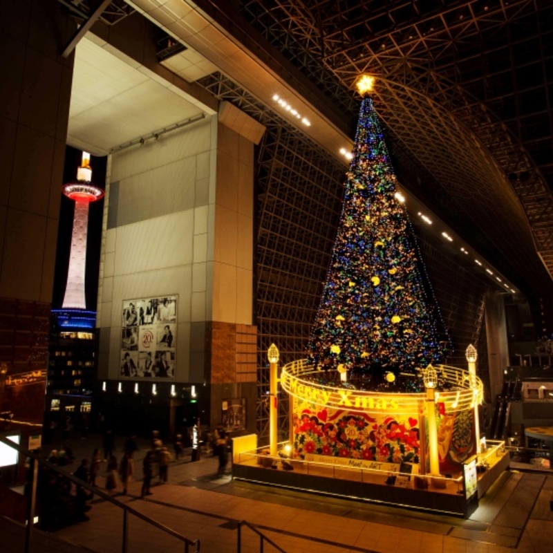 【プレゼント付き京都通クイズ】このクリスマスツリーは、どこのツリー?