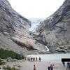北欧ノルウェイに残る壮大なブリクスダール氷河
