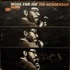 Joe Henderson: Mode For Joe (1966) 好きな感じなのだけど