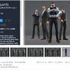 【無料アセット読者投稿】スーツ姿でアウトレイジ感な4人のボディーガードのキャラモデル / タンクトップと大きな包丁!強面キャラクター / オシャレな建造物と小道具パック / マッチョ、SFモノ、ファンタジーなど