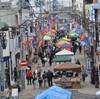 今年最後の勝川弘法市でした