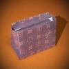 折り紙のセカンドバッグ