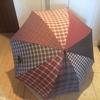 直しながら 大切な傘