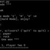 【Udacity Week 7 Progress】Python で Rock, Paper, Scissors ゲームを作った