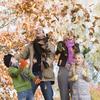 伊佐市、曽木の滝、紅葉祭り中止をチビ達と訪れて