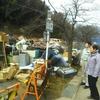 28日、伊達市梁川町の被災地を調査。寿センターで避難者からも要望を聴取。