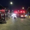 1月15日に近所で発生した火災の詳細です。