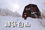 新潟の霊峰白山「越後白山」へ(尾根線~田村線周回)