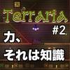 【Terraria】知識が欲しい【#2】