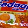 「Mie Sedaap Instant MI GORENG」を食べました