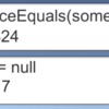 object.ReferenceEquals(someObject, null) の方が someObject == null より早い…が、盲目的に使うのは危険