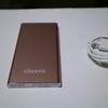 スタイッリシュ(?)な薄型モバイルバッテリー、cheero Slim 5300mAh