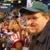 マイケル・ムーア、民主党大会に現る