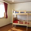 子供部屋の間仕切り壁と可動式収納