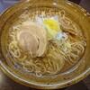 金沢市米泉にあるラーメン屋さん、秋生で期間限定のみぞれ煮干しそば。