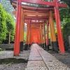☔雨の根津神社