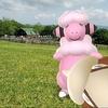 まきばにモココと画伯🐾【ポケモンGOAR写真】千葉・マザー牧場にて