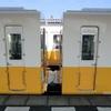 二往復目の運転琴電高松築港に向かう600形の車内は