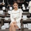 韓国アイドルファッション,ブラックピンクのジェニーのシャネル·ワンピース