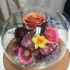 【特注・ボトルフラワー】退職祝いの花束を保存したい!