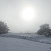 積雪と小麦
