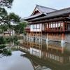 善光寺の亀池(長野県長野)