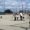 2年生:体育 サッカーの練習